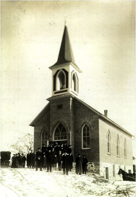 St. John's -- Morgan shortly after construction in 1914